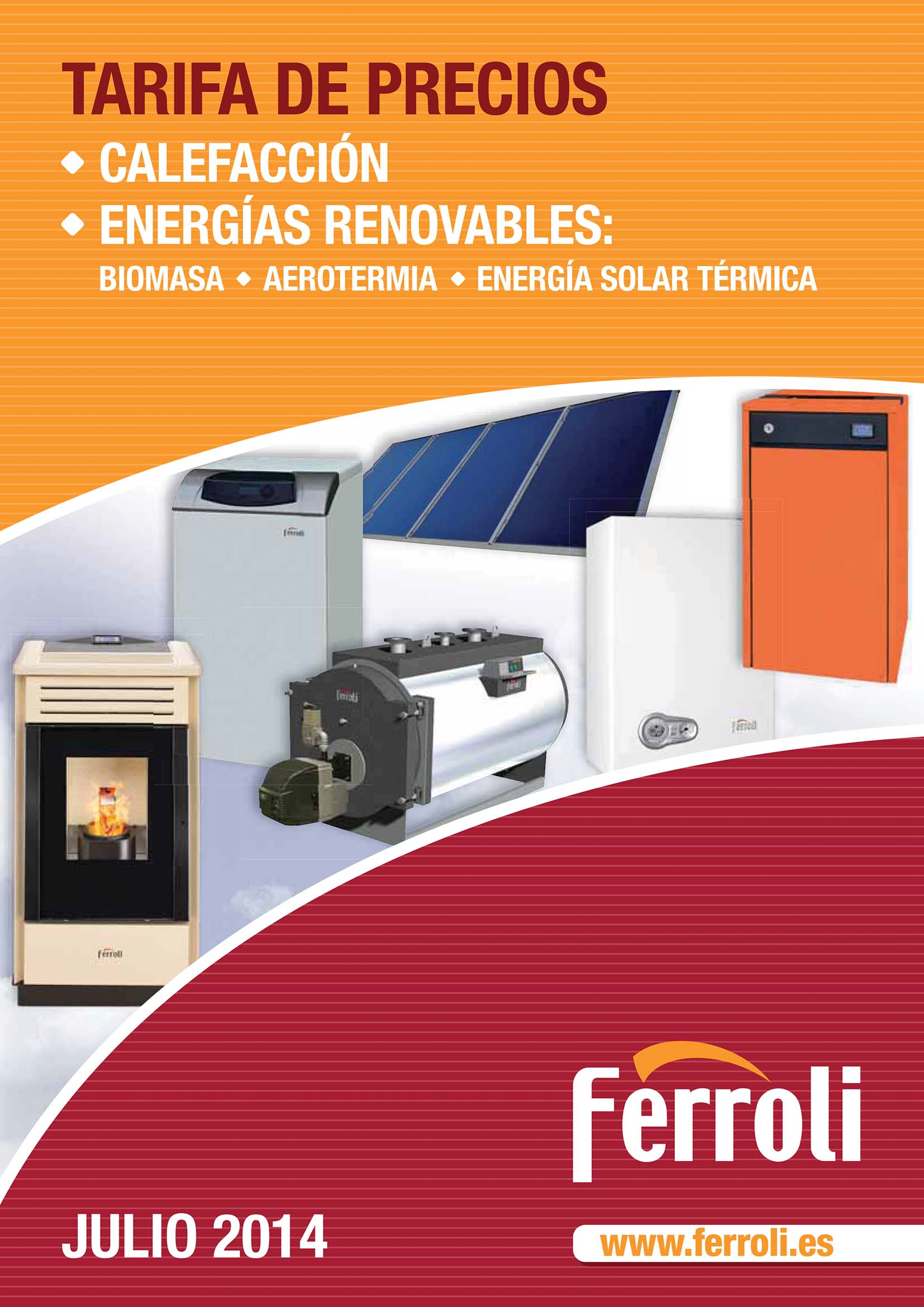 Ferroli presenta sus nuevas tarifas para calefacci n y - Precio de calderas de gas ...