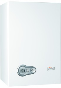 Nueva caldera mural de condensación Ferroli presenta la BlueHelix 25 K 50