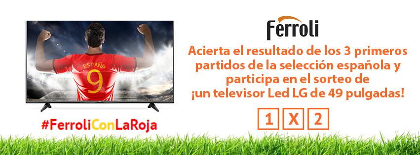 #ferroliconlaroja